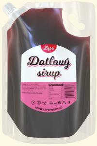 Datlový sirup - Přírodní sladidlo vyrobené pouze z datlí bez přidaného cukru. Má výraznou chuť s karamelovými a medovými tóny a výrazné datlové aroma. Je to výborný doplněk, kterým si můžete zdravě osladit naše ořechové pasty.