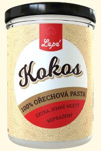 Kokos - Jemně namletá pasta ze sušeného nepraženého kokosu. Přirozeně nasládlá. Při teplotě pod 25 °C tuhne, a tak se dá využít do dortových krémů. Hodí se též do snídaňových kaší nebo do sušenkových těst. Smícháním s teplou vodou vznikne kokosové mléko používané v asijské kuchyni ke zjemnění chuti a zahuštění pokrmů.